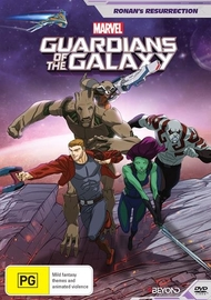 Guardians Of The Galaxy: Ronan's Resurrection on DVD