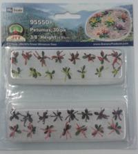 JTT: HO Scale Scenic Petunias - 30 Pack
