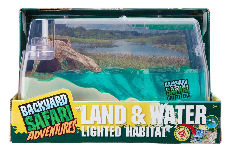 Backyard Safari Lighted Land Amp Water Habitat Toy At