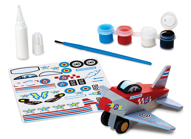 Melissa & Doug: Decorate Your Own - Plane