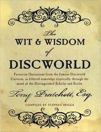 The Wit and Wisdom of Discworld by Terry Pratchett image