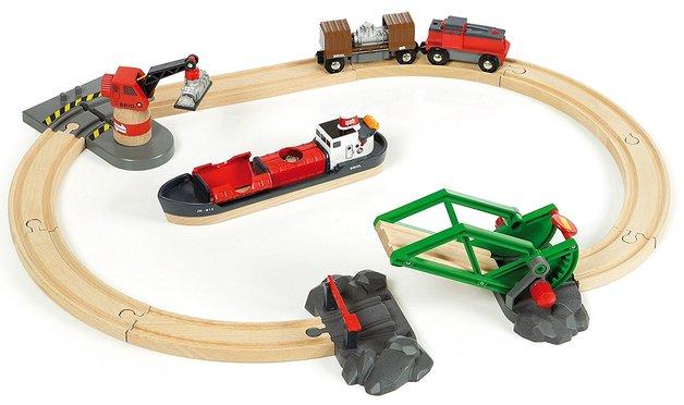 Brio: Cargo Harbour - Railway Set