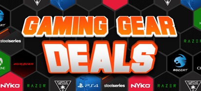 Gaming Gear deals for February!