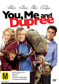 You Me And Dupree on DVD
