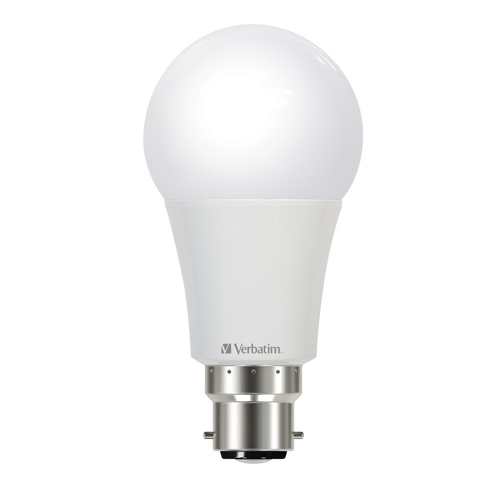Verbatim LED Classic A 9W 850lm 4000K Cool White B22 Bayonet Dimmable image
