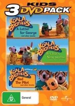 Koala Brothers, The - Kids 3 DVD Pack (3 Disc Set) on DVD