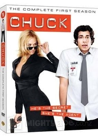 Chuck - The Complete 1st Season (4 Disc Set) DVD image