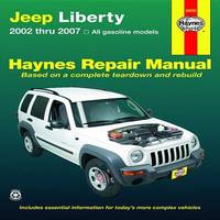 Jeep Liberty Automotive Repair Manual: 02-07 by Len Taylor image