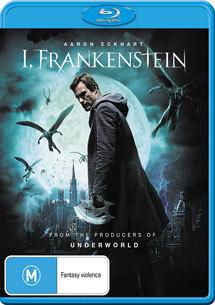 I, Frankenstein on Blu-ray