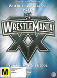 WWE Wrestlemania: XX - 3 Disc Set on DVD