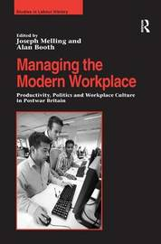 Managing the Modern Workplace by Alan Booth image