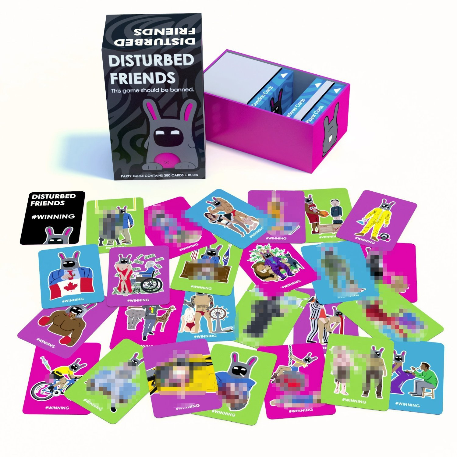 Disturbed Friends - Card Game image