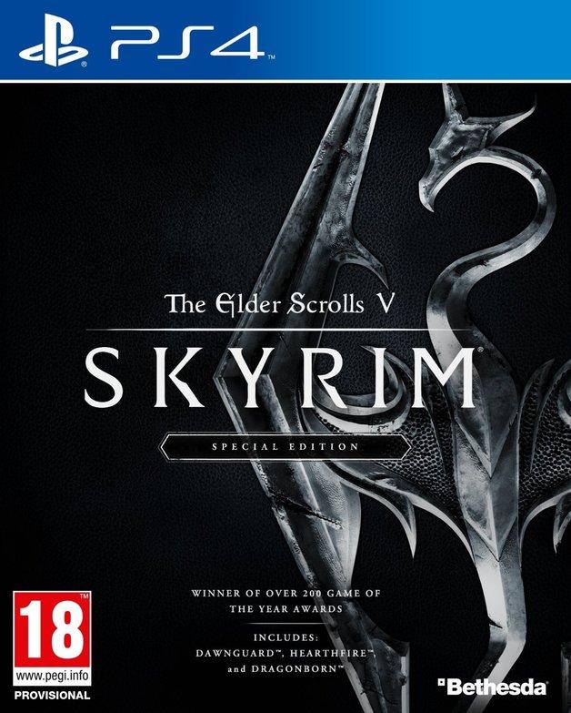 The Elder Scrolls V: Skyrim Special Edition for PS4