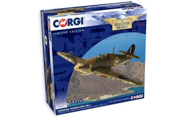 Corgi: 1/72 Hawker Hurricane Mk.I Diecast Model