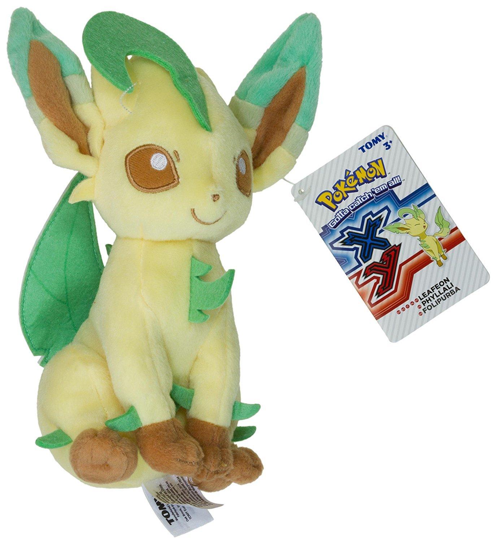 """Pokemon: Leafeon - 8"""" Basic Plush image"""