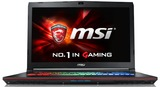 "MSI GE72VR 7RF 17.3"" Gaming Laptop Intel Core i7-7700HQ, 8GB RAM, GTX 1060 3GB"