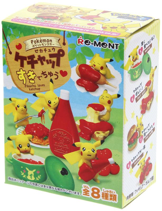 Pokemon: Pikachu Ketchup - Suki De Chu Mini-figure (Blindbox)