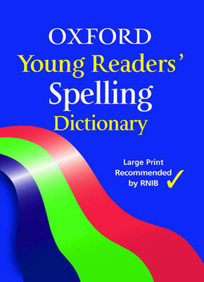 Oxford Young Reader's Spelling Dictionary by Robert Allen image