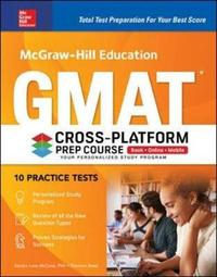 McGraw-Hill Education GMAT Cross-Platform Prep Course, Eleventh Edition by Sandra Luna McCune image