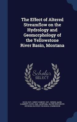 The Effect of Altered Streamflow on the Hydrology and Geomorphology of the Yellowstone River Basin, Montana by Roy Koch image