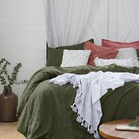 Bambury King Jacquard Quilt Cover Set (Elvira)