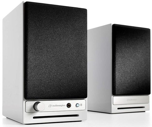 Audioengine: HD3 Powered Desktop Speakers (Pair) - Gloss White