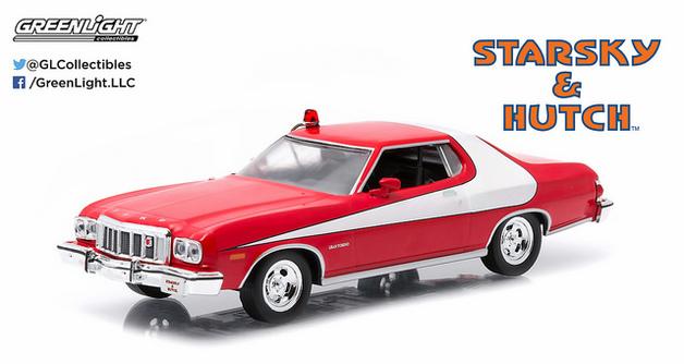 1/43: Ford Gran Torino - Starsky and Hutch - Diecast Model