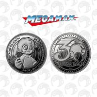 Mega Man: Collectible Coin - 30th Anniversary (Silver Edition)