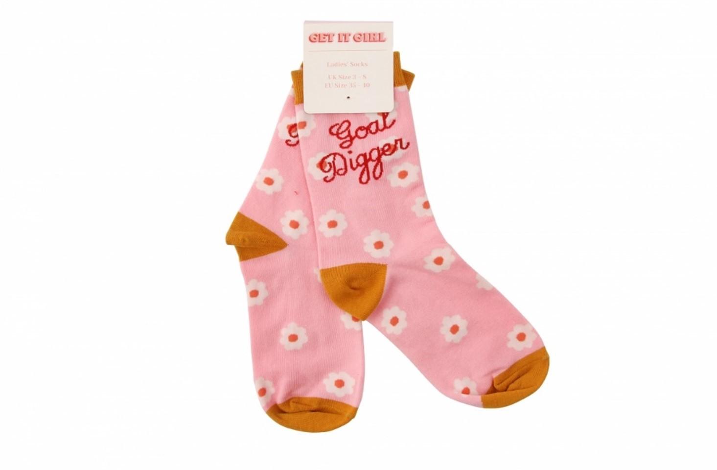 Get it Girl: Goal Digger Socks image