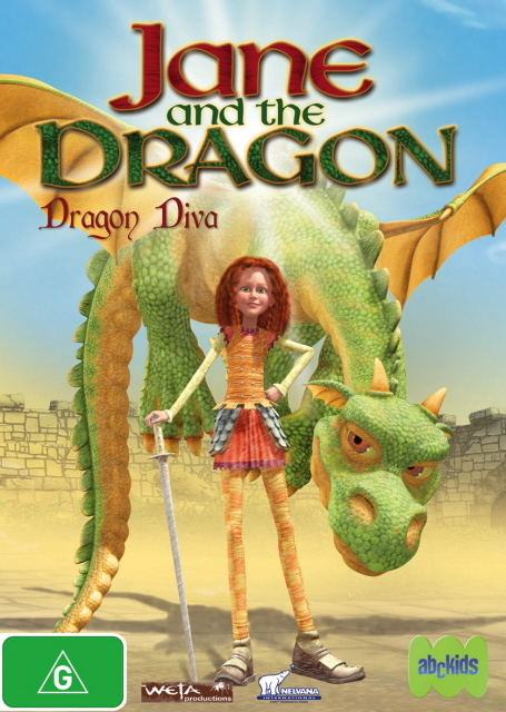 Jane And The Dragon - Dragon Diva on DVD