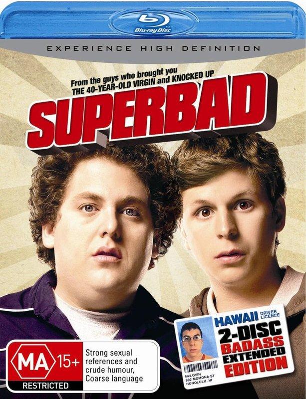 Superbad on Blu-ray