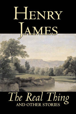 an analysis of henry james short story the real thing