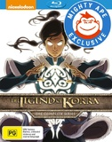 The Legend of Korra: Books 1-4 (Mighty Ape Exclusive) on Blu-ray