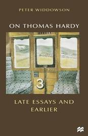 On Thomas Hardy by Peter Widdowson
