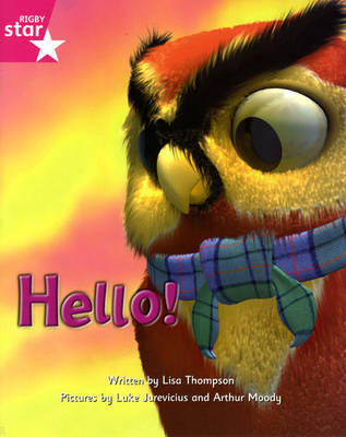Fantastic Forest Pink Level Fiction: Hello! by Lisa Thompson image