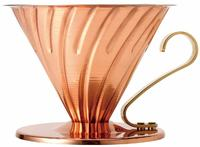 Hario: V60 Copper Coffee Dripper 02