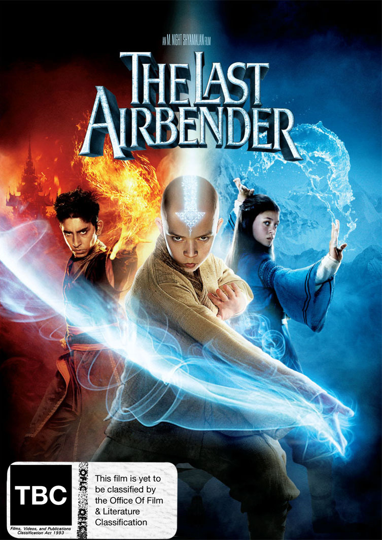 The Last Airbender on DVD image