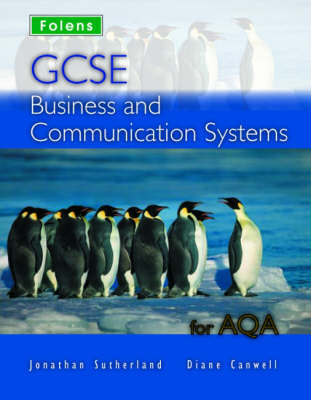GCSE Business & Communication: Student Book - AQA by Jonathan Sutherland image