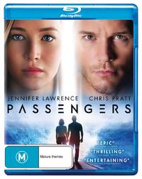 Passengers (2016) on Blu-ray image