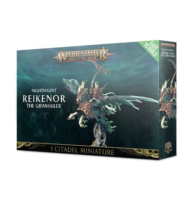 Warhammer Age of Sigmar: Reikenor the Grimhailer