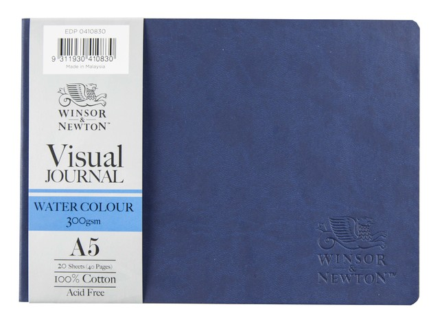 Winsor & Newton: Softcover Watercolour Journal - A5 (300gsm)