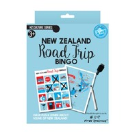 NZ Gift: Travel Game - Road Trip Bingo