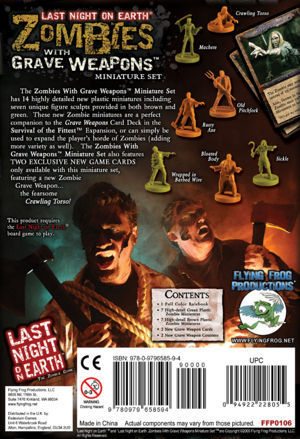 Last Night on Earth: Zombies with Grave Weapons (Miniature Set) Expansion image