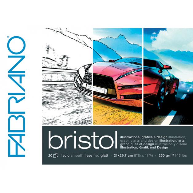 Fabriano: Bristol Pad - A3 250gsm (20 Sheets)