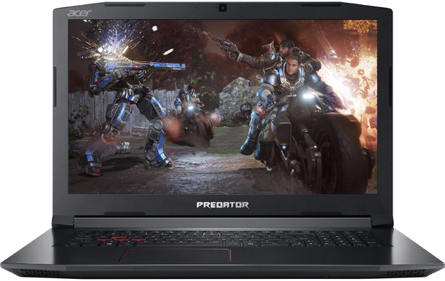 """17.3"""" Acer Helios 300 i7 16GB RTX2070 512GB 2TB Gaming Notebook"""
