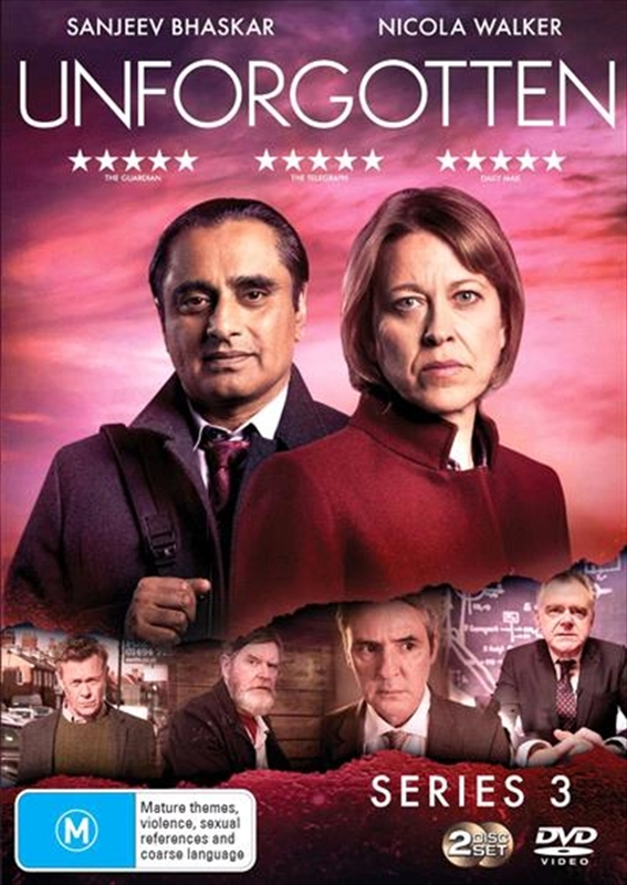 Unforgotten - Season 3 on DVD