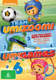 Team Umizoomi: Umigames on DVD