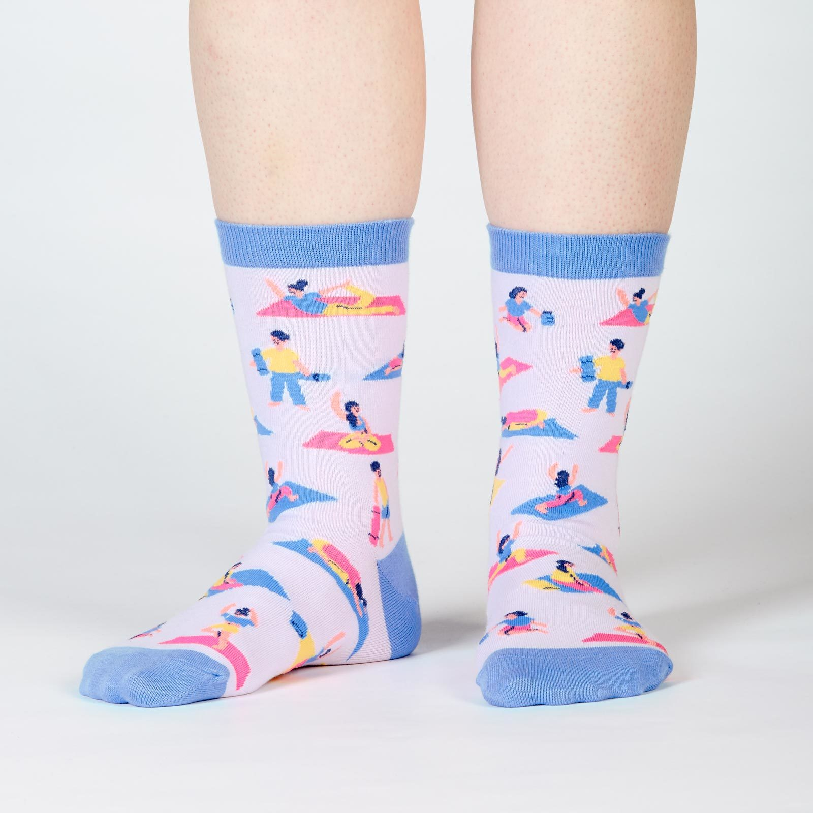 Women's - Pose Your Toes Crew Socks image