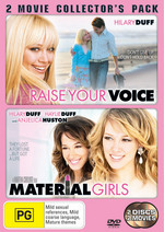 Raise Your Voice / Material Girls - 2 Movie Collector's Pack (2 Disc Set) on DVD