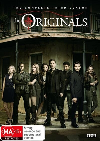 The Originals - Season 3 on DVD